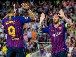 Messi schießt PSV mit Dreierpack aus dem Camp Nou