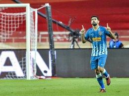 Gimenez köpft Atletico gegen Monaco zum Sieg