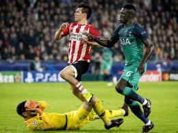Rot für Lloris bringt PSV zurück