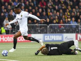 Batshuayis Treffer reicht Valencia nicht