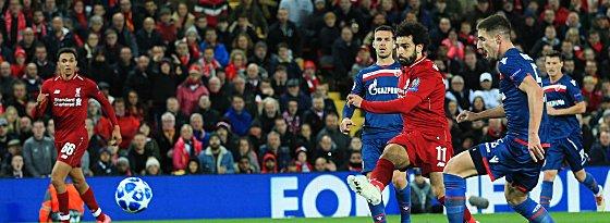 Erster Streich: Salah (3.v.r.) trifft zum 2:0.