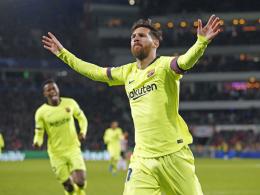 Zwei Messi-Momente sichern Barça Platz eins
