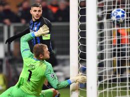 Icardis 1:1 reicht nicht: PSV kegelt Inter raus