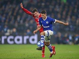 Schalke-Sieg zum Abschluss: Schöpf ist spät zur Stelle
