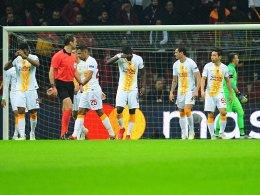 Galatasaray leidet - und überwintert in der Europa League