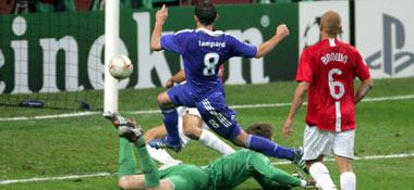 Lampard schießt zum 1:1 ein