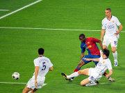 Eto'o trifft zur Führung für Barcelona