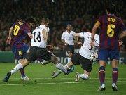 Messi erzielt das 1:1