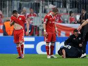 Ribery muss vom Platz