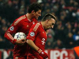 Gomez und Ribery