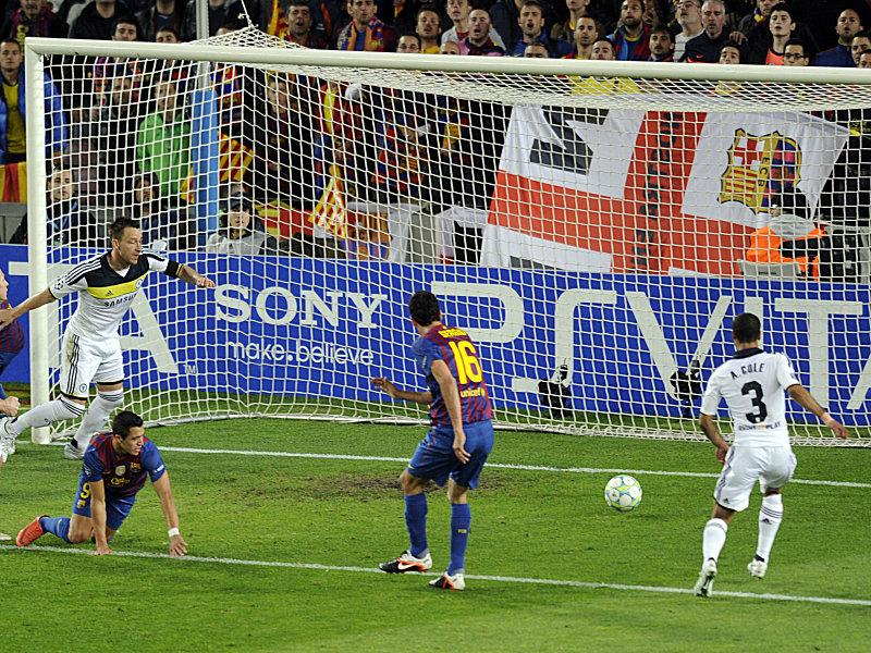 Sergio Busquets erzielt das 1:0