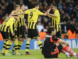 Dortmund jubelt, Casillas ist frustriert