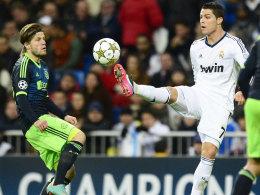 Lasse Schöne vs. Cristiano Ronaldo