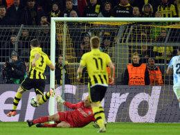 Lewandowski erzielt das 1:1
