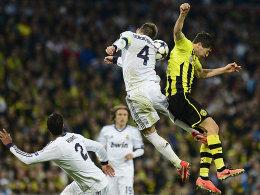 Eng am Mann: Lewandowski und Ramos lieferten sich harte Zweikämpfe.