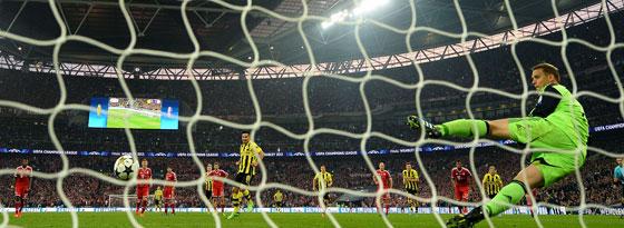 Gündogan verwandelt den Elfmeter zum 1:1