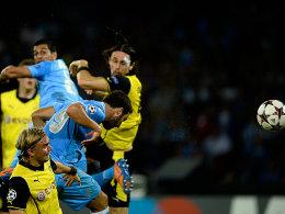 Gonzalo Higuain trifft zum 1:0