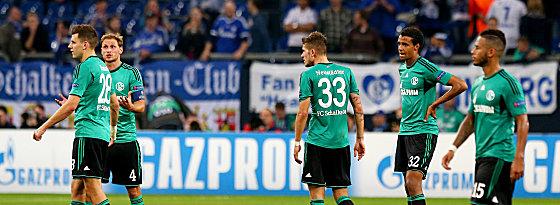 Frust: Schalke zahlte gegen Chelsea Lehrgeld.