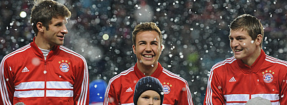 Thomas Müller, Mario Götze, Toni Kroos