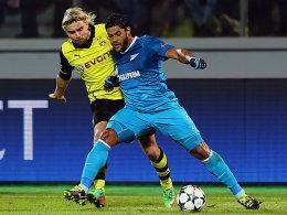 Hulk mit Dortmunds Schmelzer
