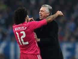 Marcelo und Carlo Ancelotti
