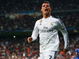 Eiskalt: Cristiano Ronaldo trifft zum 2:2.