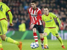 PSV: Sp�ter Weckruf bringt Achtelfinale