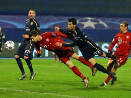 Lewandowski erzielt das 1:0