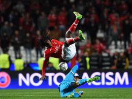 Benfica jubelt: Last-Minute-Treffer von Jonas
