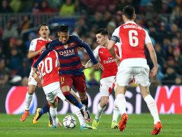 Öffnete die Tür zum Viertelfinale: Neymar erzielte das entscheidende 1:0 für Barcelona.