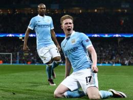 De Bruyne schie�t City ins Halbfinale