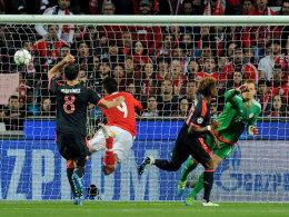 Wieder Vidal! FCB zum f�nften Mal im Halbfinale
