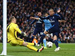 Hart h�lt Manchester City im Rennen