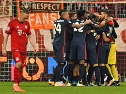M�ller zeigt Nerven - Griezmann schie�t Atletico ins Finale
