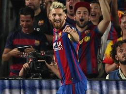 Dreifacher Messi & Co. führen Celtic vor
