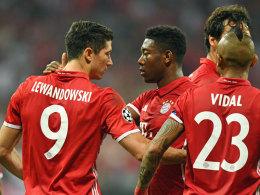 Klare Sache! Bayern fertigt Rostow ab