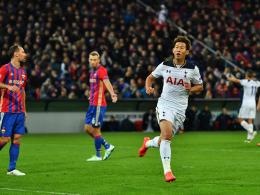 Spurs-Premiere gelingt: Son entwischt Shchennikov