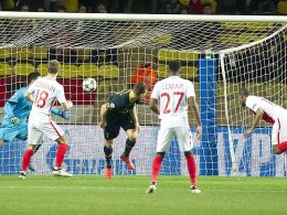 Lemar schießt Monaco ins Achtelfinale