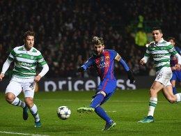 Doppelter Messi sichert Barça Platz eins