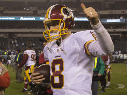 Cousins und Reed f�hren Redskins in die Play-offs