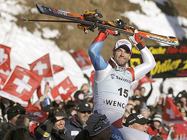 Defago l sst die schweiz jubeln wintersport kicker for Didier defago