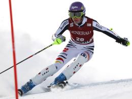 """Geht in Ofterschwang im Slalom und im """"Riesen"""" an den Start: Maria Höfl-Riesch."""