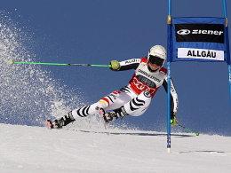 Zu schnell für die Konkurrenz: Viktoria Rebensburg.