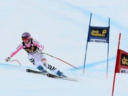 Guter Auftakt in St. Moritz: Maria Höfl-Riesch holte in der Super-Kombination Rang vier.