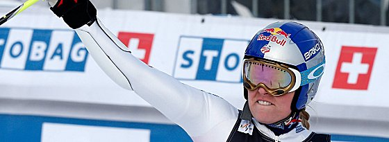 Setzte in Maribor ein Ausrufezeichen: Lindsey Vonn gewann den Riesenslalom im Slowenien.