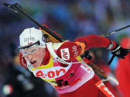 Überragend: Die Norwegerin Tora Berger triumphierte in der Verfolgung.