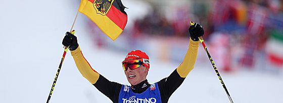 Kombinierer Eric Frenzel holte die einzige Goldmedaille für den DSV.