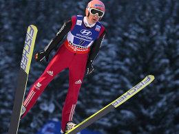 Für Silber fehlte nicht viel: Severin Freund holte mit dem Mixed-Team Bronze.