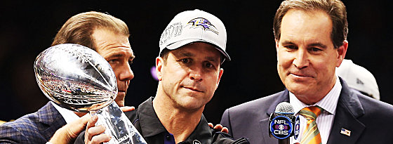 John Harbaugh stach seinen Bruder Jim aus - die Baltimore Ravens dürfen sich Super-Bowl-Sieger nennen.