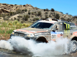 Dakar 2011: Stephane Peterhansel im BMW.
